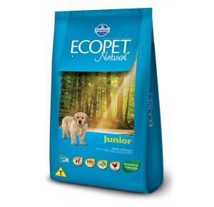 Ração Ecopet para Cães Filhotes Raças Medias e Grandes  20kg
