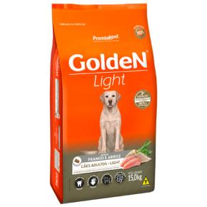 Ração Golden Fórmula Light para Cães Adultos - Frango e Arroz 15kg