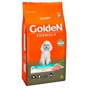 Ração Golden Fórmula para Cães Adultos Raças Pequenas - Frango e Arroz 15kg