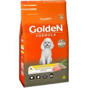 Ração Fórmula Golden para Cães Adultos de Porte Pequeno sabor Peru e Arroz 3kg