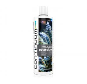 Suplemento de Potássio Continuum Reef Basis Potassium Líquido 250ml