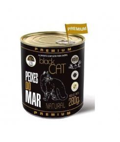 Bongos Black Cat Gatos Adultos Wet Peixes do Mar 280g