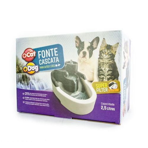 Fonte Mais Cat Cores Bivolt Mais Dog