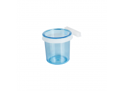 Porta Vitamina com Presilha Fechada Azul Grande Jet Plast