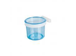 Porta Vitamina com Presilha Fechada Azul Extra Grande Jet Plast