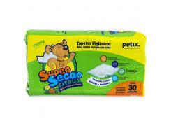 Tapete Higiênico para Cachorro Com 30Unidades Petix
