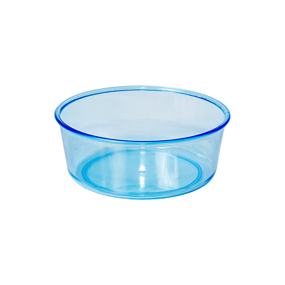 Tigela Redonda Azul Média Jel Plast