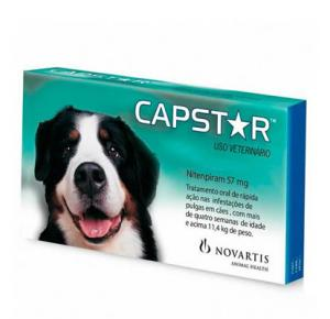 Antipulgas Capstar 57,0mg Com 6 Comprimidos