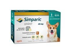 Antipulgas Simparic Cães de 10,1 a 20 Kg (1 Comprimido)