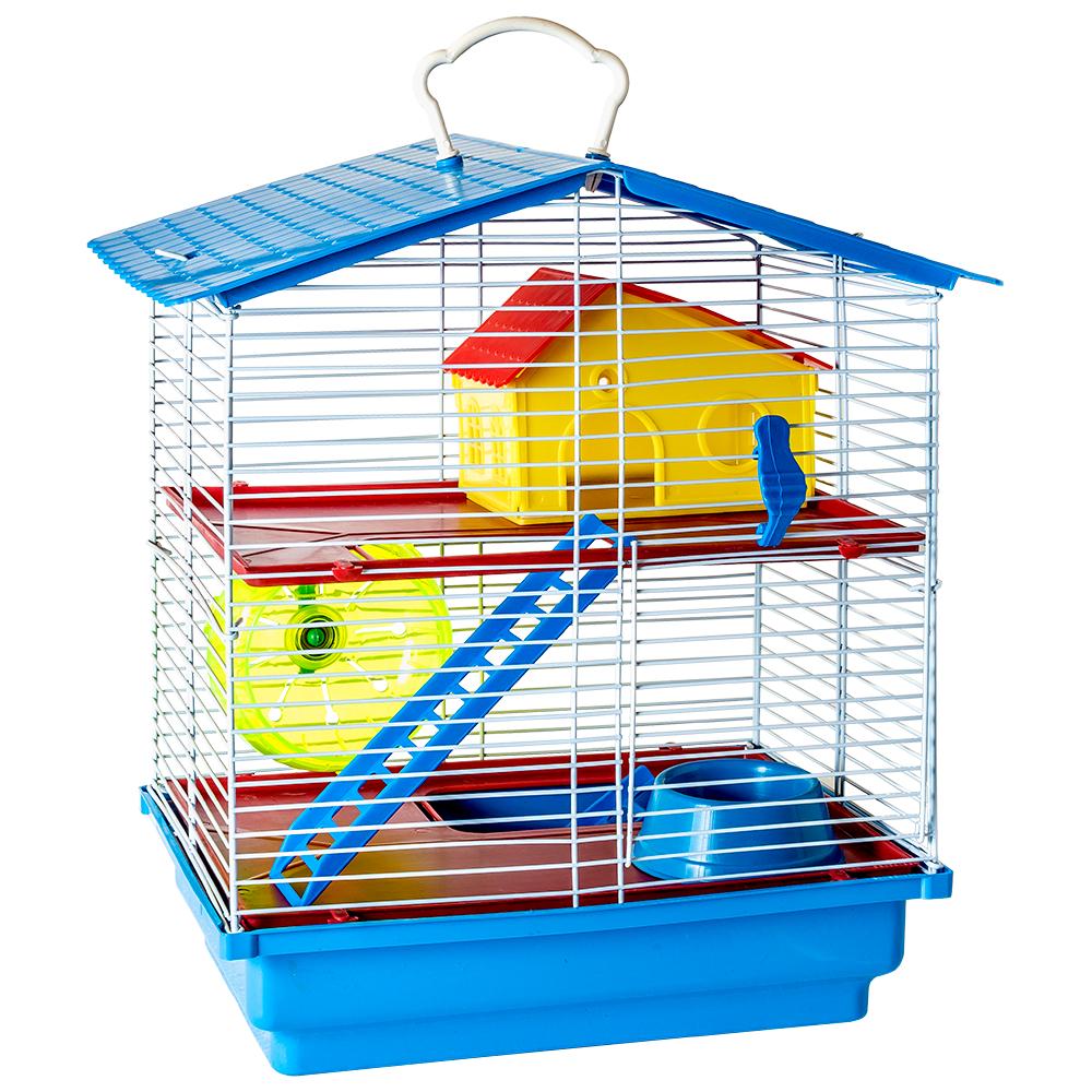 Gaiola Hamster 2 Andar Jel Plast