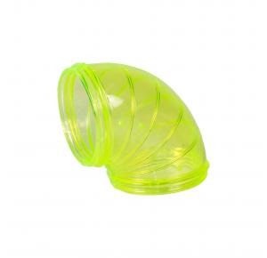Tubo Hamster Curvo Jel Plast