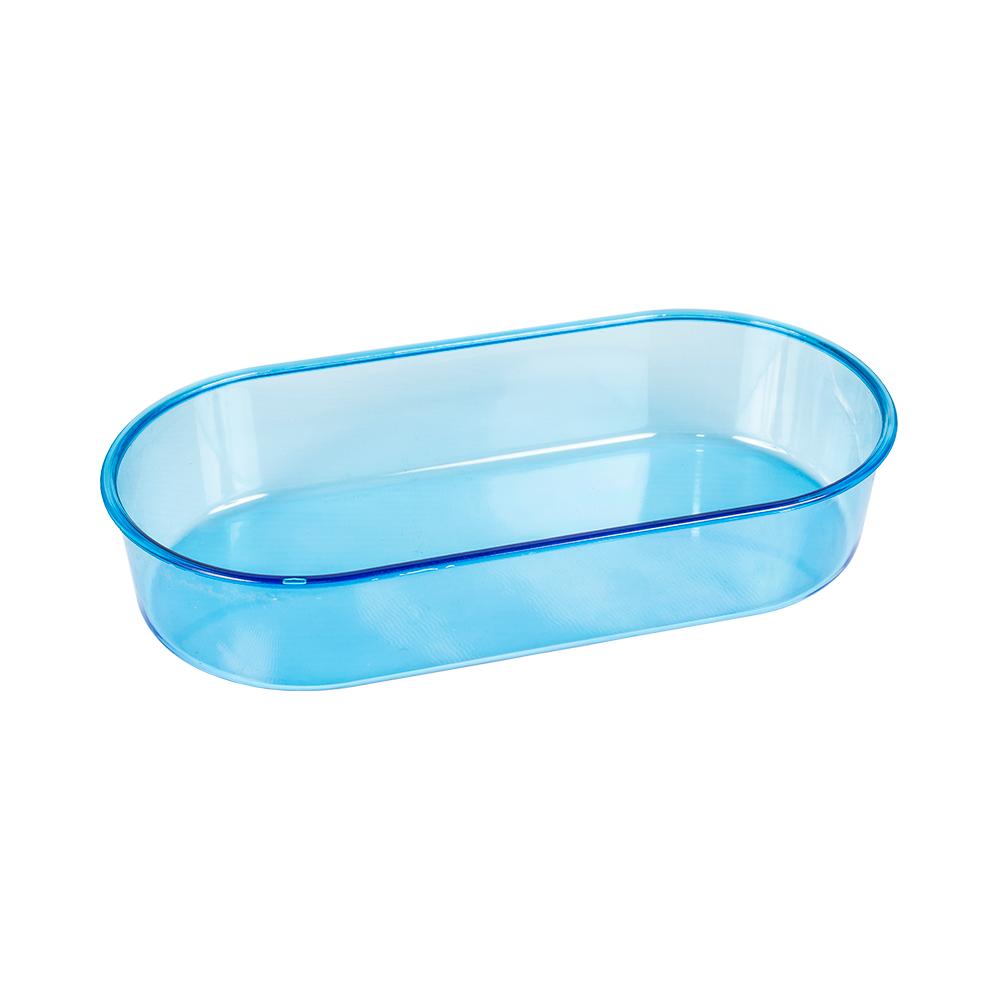 Banheira Oval Azul Média Jet Plast
