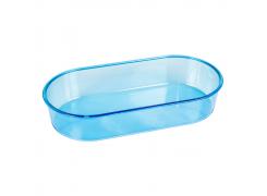 Banheira Oval Azul Grande-Jet Plast