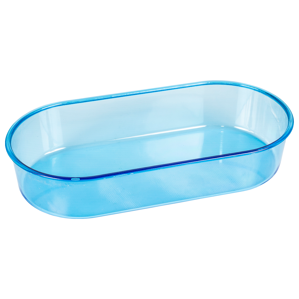 Banheira Oval Azul Gigante Jet Plast