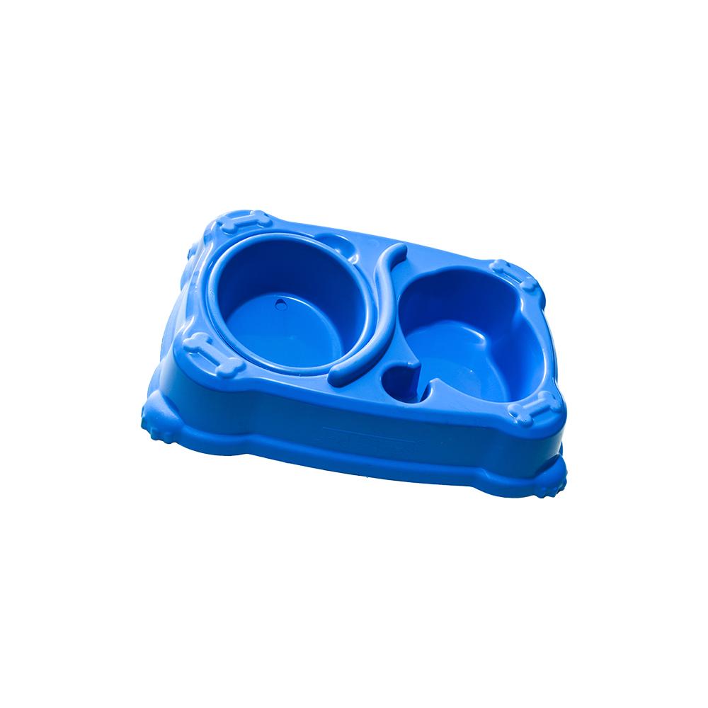 Comedouro E Bebedouro Pequeno 300Ml Cores Jet Plast