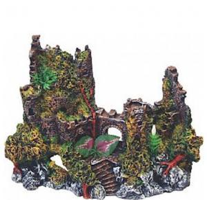 Enfeite Para Aquário Castelo Medieval Grande  (063)Lester