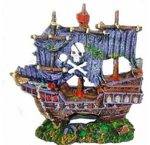 Enfeite Barco Pirata III Lester