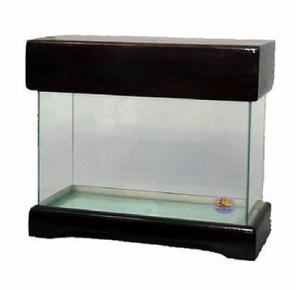 Aquário Com Movel Preto - 45cm - Leste