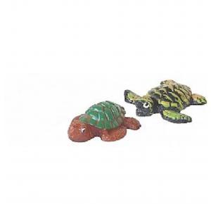 Enfeite Para Aquário Tartaruga Verde Lester