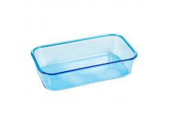 Banheira Azul Retangular Grande Jet Plast