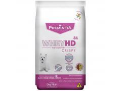 Ração Premiatta Whey HD 31 Crispy para Cães Adultos de Raças Pequenas 3kg
