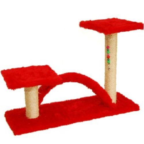 Arranhador Trampolim 2 Postes Com Arco para gatos Ws Pet