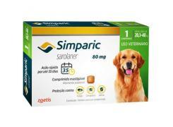Antipulgas Simparic Cães de 20,1 a 40 Kg (1 Comprimido)