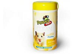 Lencos Umédecidos Power Pets Roedores  Para Roedores -500G