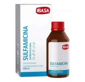 Sulfamicina Oral 200ml Ibasa Antibiótico Veterinario