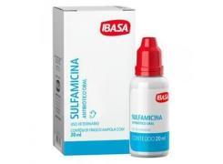 Sulfamicina Oral 20ml Ibasa Antibiótico