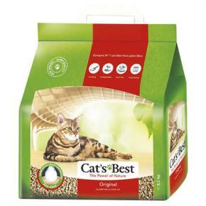 Areia Higiênica Cat's Best Original para Gatos 2,1KG