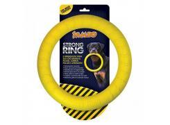 Brinquedo Mordedor Anel Ring Strong Amarelo Jambo