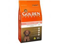 Ração Golden Fórmula Mini Bits para Cães Filhotes de Pequeno Porte Sabor Frango e Arroz 10.1kg