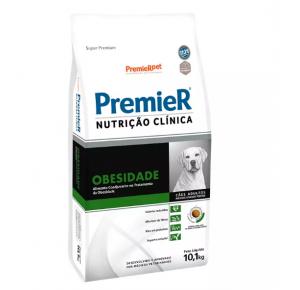 Ração Premier Nutrição Clínica Obesidade para Cães Adultos Raças Médias e Grandes 10,1kg