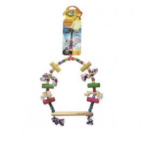 Brinquedo Balanço Madeira Dental Mais Bird