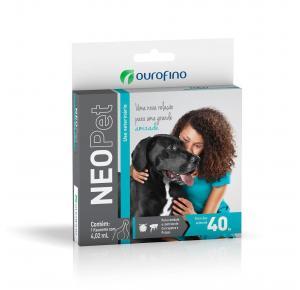 Antipulgas Neopet  Cães acima de 40 Kg (1flaconete)