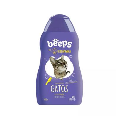 Shampoo Beeps Estopinha Para Gato 500Ml