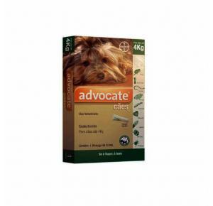 Advocate Antipulgas para Cães de até 4kg 1 Pipeta Bayer