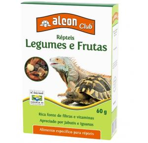 Alcon Club Répteis Legumes E Frutas 60g