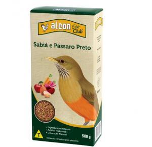 Alcon Eco Club Sabiá E Pássaro Preto 500g