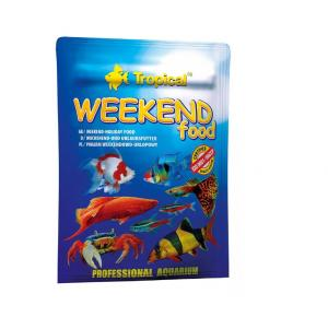 Alimento Tropical Weekend Food para Peixes - 20g