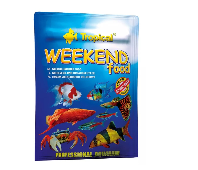 Alimento Tropical Weekend Food para Peixes - 20g