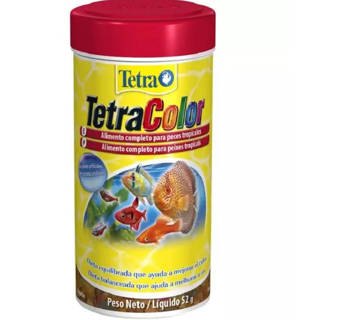 Alimento para Peixe Tetra Color Flakes