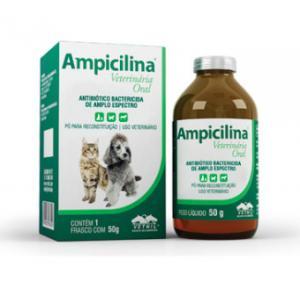 Ampicilina Vet.Oral 50 g Univet