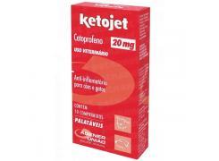Anti-Infamatório Agener União Ketojet 20mg com 10 comprimidos