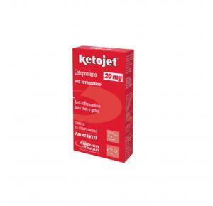 Anti-Infamatório Ketojet 20mg com 10 Comprimidos Agener União