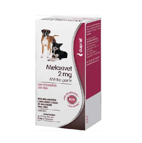 Meloxivet Anti-Inflamatório 10 comprimidos - 2 mg