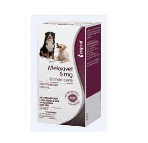 Meloxivet Anti-Inflamatório 10 comprimidos - 6 mg