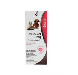 Meloxivet Anti-Inflamatório 10 comprimidos - 1 mg