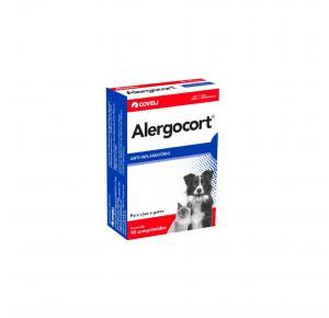 Anti-inflamatório Alergocort com 10 Comprimidos Coveli 200mg